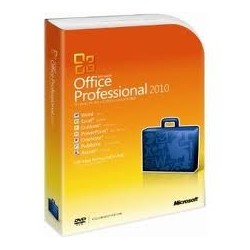 Microsoft Office Professional 2010 32/64Bts DVD Espanol